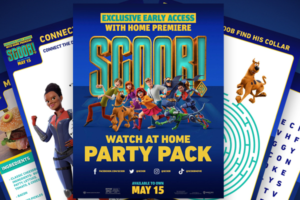 Scoob Watch At Home Party Pack
