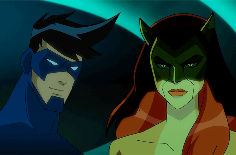Batman Unlimited | Nightwing vs the Cat Burglar