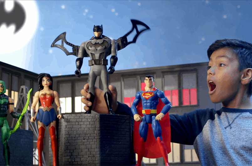 Batman: Behind the Scenes! | On Set for the Epic New JLA Toy Commercial