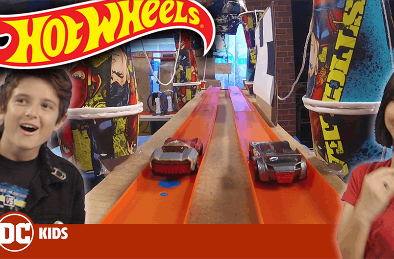 DC HOT WHEELS CHALLENGE! | DC Kids Show