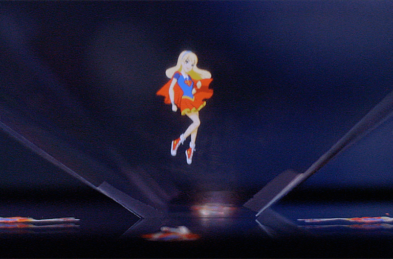 DC Super Hero Girls Hologram Video