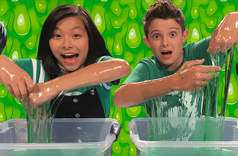 DC Toy Slime Challenge | DC KIDS SHOW