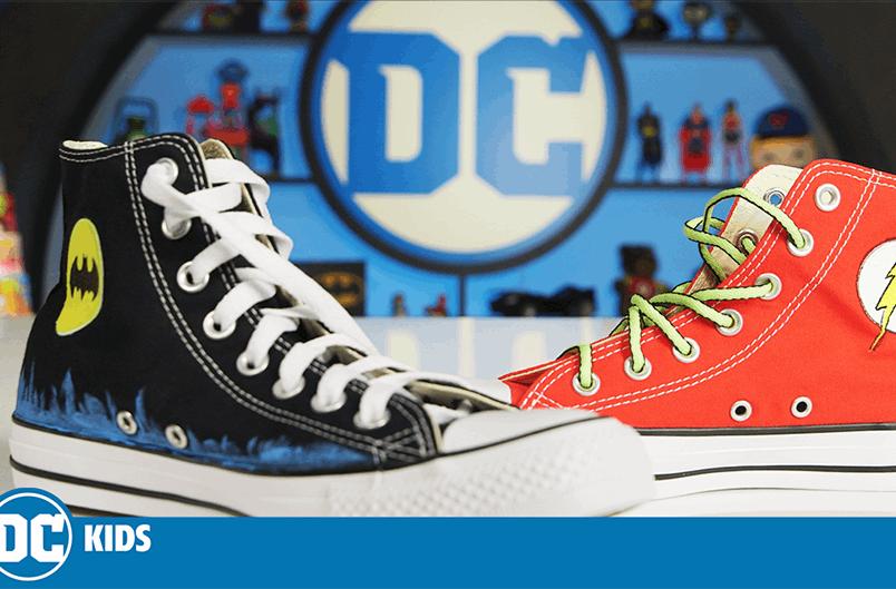 DIY DC Converse | 120 | DC Kids Show