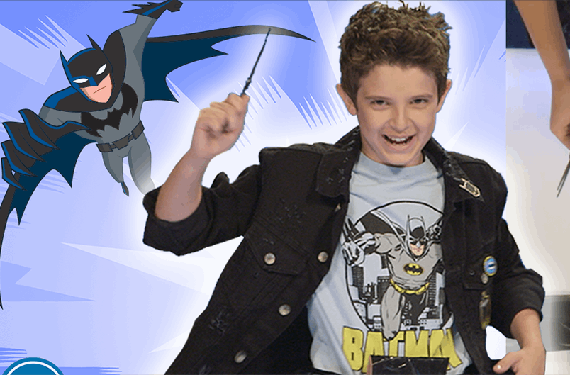 Make your own DIY Batbelt and Batarangs! | DC KIDS SHOW