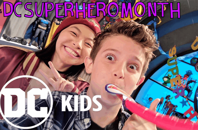 SUPER HERO MONTH LAUNCH! | DC KIDS SHOW