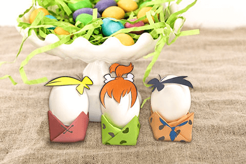 Flintstones Easter Eggs